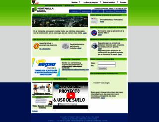 vu.muniguate.com screenshot