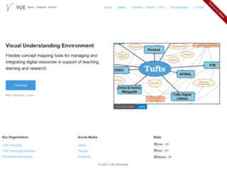 vue.tufts.edu screenshot