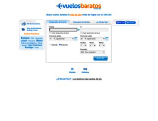 vuelosbaratos.com.ar screenshot