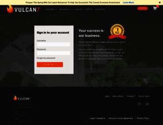 vulcan7dialer.com screenshot