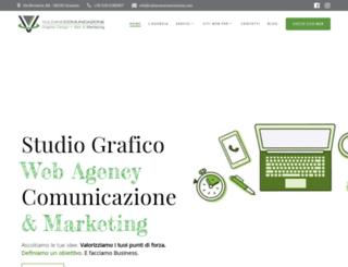 vulcanocomunicazione.com screenshot