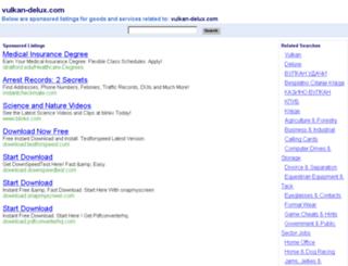 vulkan-delux.com screenshot