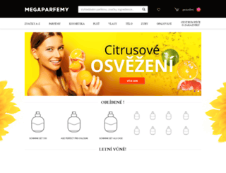 vune-parfemu.cz screenshot