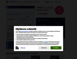 vuokraovi.com screenshot