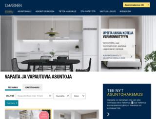 vuokraus.ilmarinen.fi screenshot
