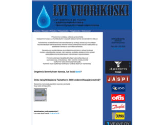 vuorikoski.fi screenshot