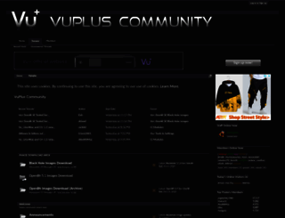 vuplus-community.net screenshot