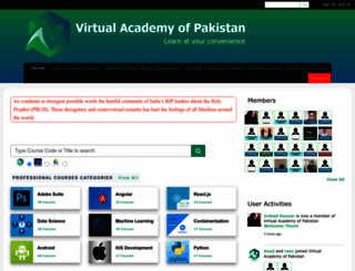 vustudents.ning.com screenshot