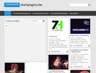 vuurwerk.startpagina.be screenshot