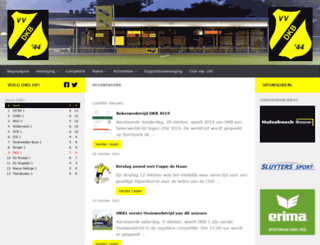 vv-dkb.nl screenshot