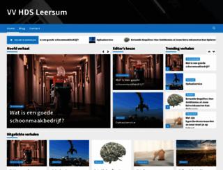 vv-hds-leersum.nl screenshot