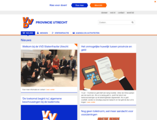 vvd-provincie-utrecht.nl screenshot
