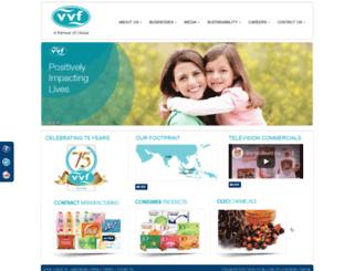 vvfltd.com screenshot