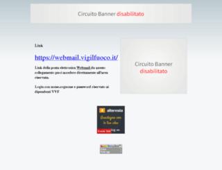 vvfvigilfuoco.altervista.org screenshot