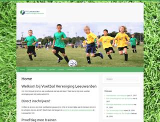 vvleeuwarden.nl screenshot