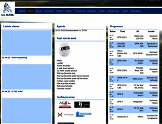 vvspw.nl screenshot