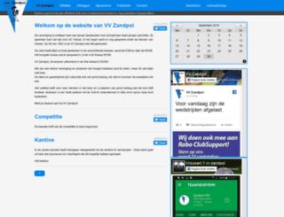 vvzandpol.nl screenshot