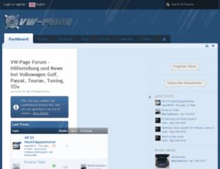 vw-page.at screenshot