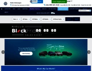 vw.niello.com screenshot