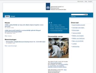 vwa.nl screenshot