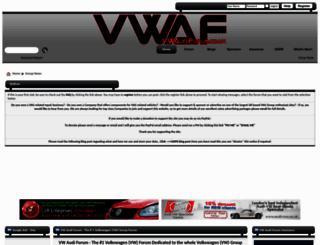 vwaudiforum.co.uk screenshot
