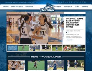 vwcathletics.com screenshot