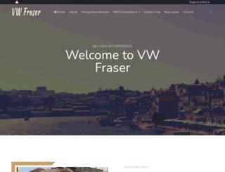vwfraser.com screenshot