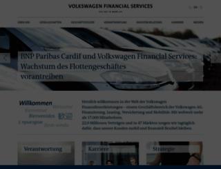 vwfs.com screenshot