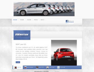 vwmotion.lv screenshot