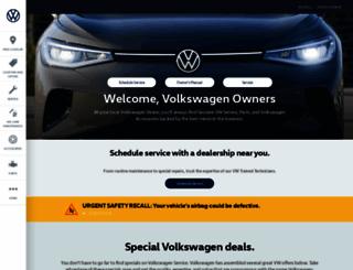 vwserviceandparts.com screenshot