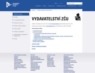 vydavatelstvi.zcu.cz screenshot