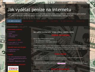 vydelkyonline.blogspot.cz screenshot