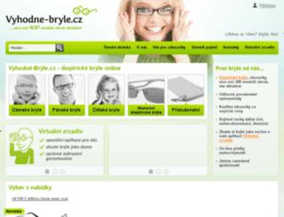 vyhodnebryle.cz screenshot