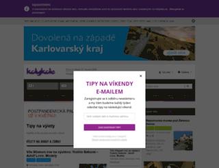 vylety.kdykde.cz screenshot