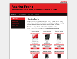 vyrobarazitekpraha.cz screenshot