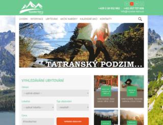 vysoketatry.cz screenshot