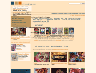 vytvarnetechniky.cz screenshot