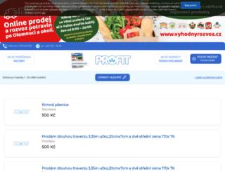 vzkazy.profit-inzerce.cz screenshot