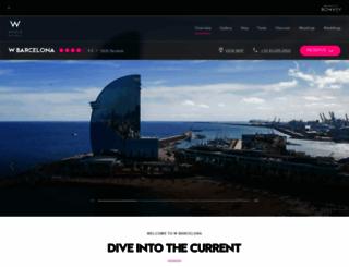 w-barcelona.com screenshot