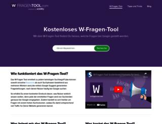 w-fragen-tool.com screenshot