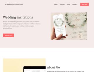 w-weddinginvitations.com screenshot