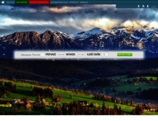 w-zakopane.pl screenshot
