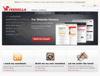 w.feedzilla.com screenshot