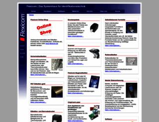 w.flexicom.de screenshot