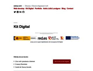 w.xarop.com screenshot
