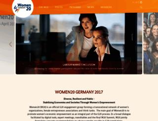 w20-germany.org screenshot