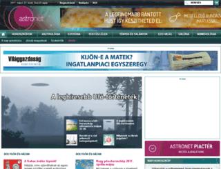 w3.astronet.hu screenshot