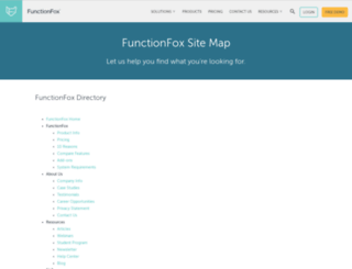 w3.functionfox.com screenshot