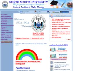 w3.northsouth.edu screenshot