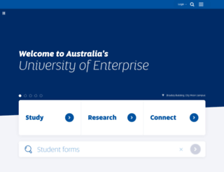 w3.unisa.edu.au screenshot